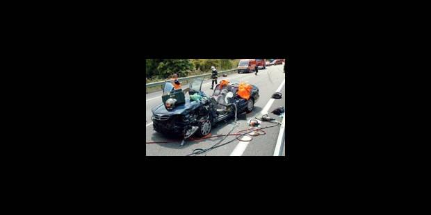 Accidents de la route et incendies - La Libre