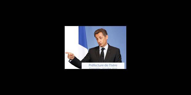 """Sarkozy : """"Je reste trois jours et """" - La Libre"""