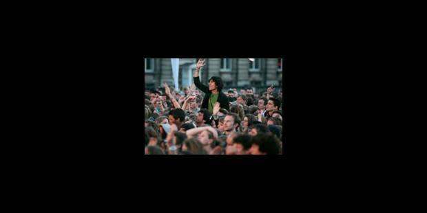 Plus de 100.000 visiteurs pour le Brussels Summer Festival - La Libre