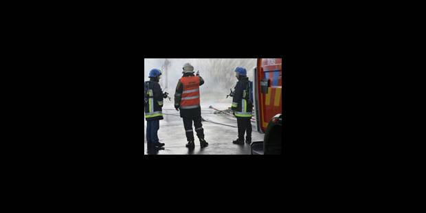 Incendie dans une entreprise Seveso à Wetteren - La Libre