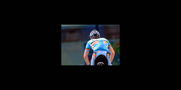 Boris Vallee décroche la médaille d'or de la course en ligne - La Libre