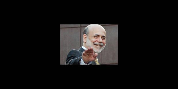 Bernanke combattra la déflation - La Libre