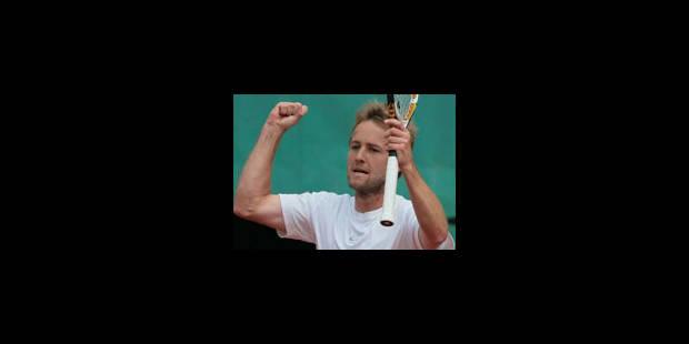 Christophe Rochus en demi-finales du double au Challenger de Banja Luka - La Libre