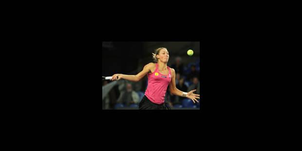 Wickmayer contre Hantuchova au 1er tour du Masters B - La Libre