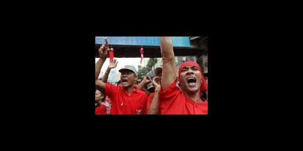 """Thaïlande: manifestation des """"chemises rouges"""" six mois après la répression - La Libre"""