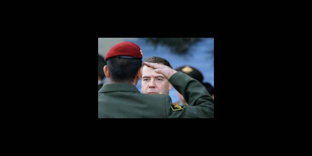Medvedev mise sur l'Otan - La Libre