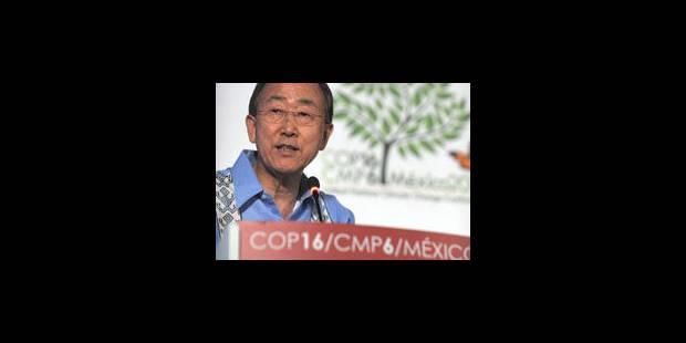 """Climat: Ban Ki-moon appelle à agir sans attendre l'""""accord parfait"""""""