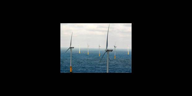 Colruyt inaugure ses éoliennes en mer