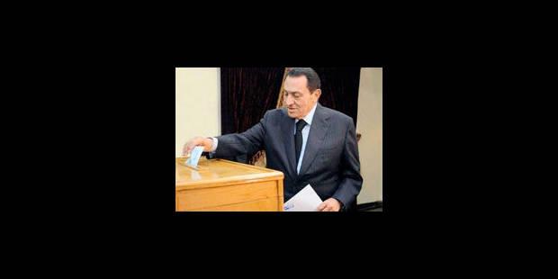 Egypte: victoire assurée du parti de Moubarak - La Libre