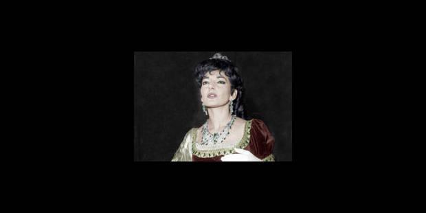Italie : la Callas est morte d'une maladie dégénérative