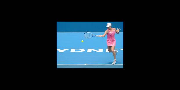 Kim Clijsters remporte son premier match officiel en 2011 - La Libre