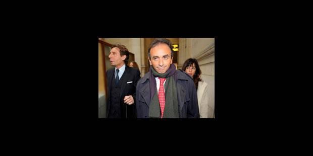 """Zemmour refuse de """"se coucher devant le politiquement correct"""" - La Libre"""