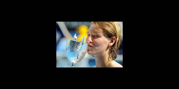 La belge An-Sophie Mestach remporte l'Open d'Australie juniores