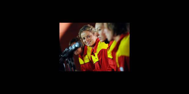 """Kim Clijsters: """"Nous avons une des meilleures équipes au monde"""" - La Libre"""
