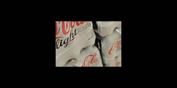 Le soda light accroîtrait le risque d'accident vasculaire de 61%