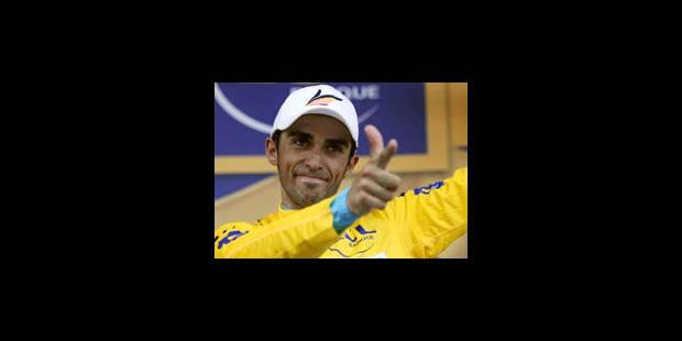 Contador ne sera pas sanctionné - La Libre