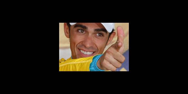 Fédération espagnole: Contador n'a pas commis de négligence - La Libre