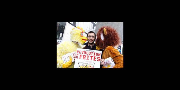 """La """"révolution des frites"""" est passée par Louvain-la-Neuve - La Libre"""