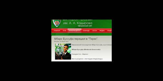 Boussoufa signerait à Grozny: suite des négociations mardi - La Libre