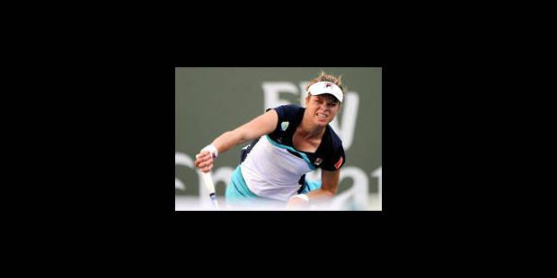 Clijsters et Wickmayer au 3e tour d'Indian Wells