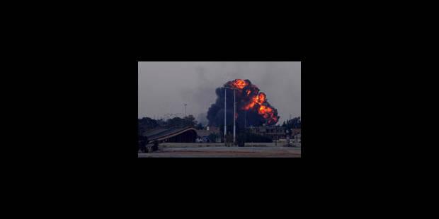 Libye : les forces de Kadhafi attaquent au coeur du territoire tenu par les rebelles - La Libre