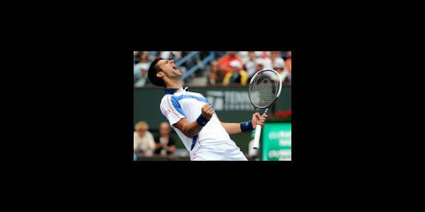 Djokovic ne plaisante pas - La Libre