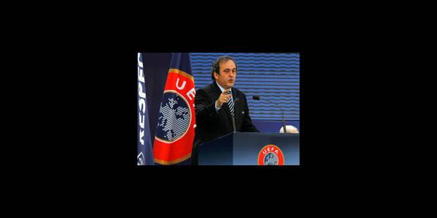 Michel Platini réélu à la présidence de l'UEFA