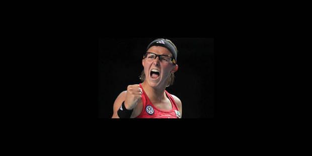 Kirsten Flipkens en quarts de finale à Fes - La Libre