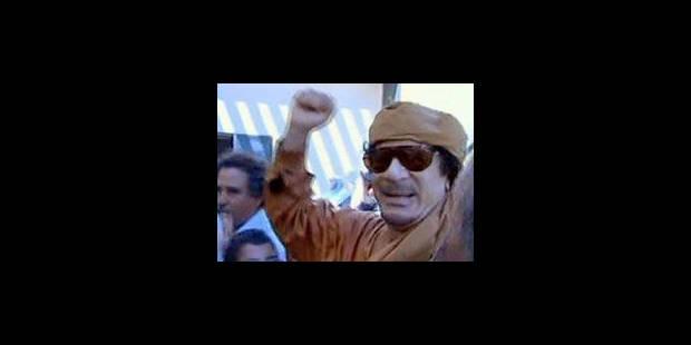 """Libye: """"Kadhafi ne quittera le pouvoir que par la force"""" - La Libre"""