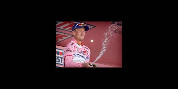 Giro: Victoire et maillot rose pour le Néerlandais Pieter Weening - La Libre
