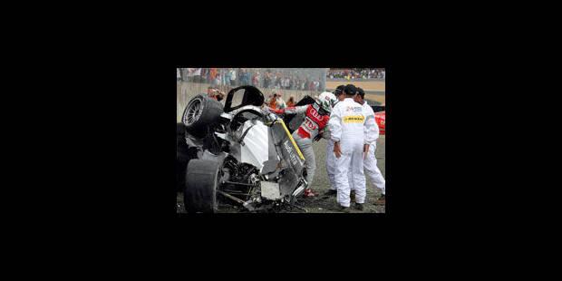 Gros accident au 24h du Mans - La Libre