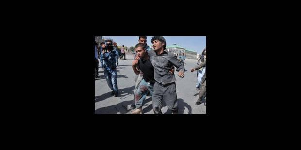 9 morts dans l'attaque d'un poste de police à Kaboul - La Libre