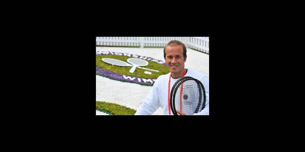 Olivier Rochus face à Kenny De Schepper au 1er tour à Wimbledon - La Libre