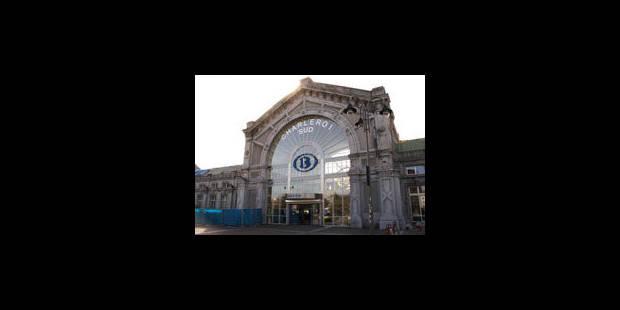 La nouvelle gare de Charleroi-Sud officiellement inaugurée - La Libre