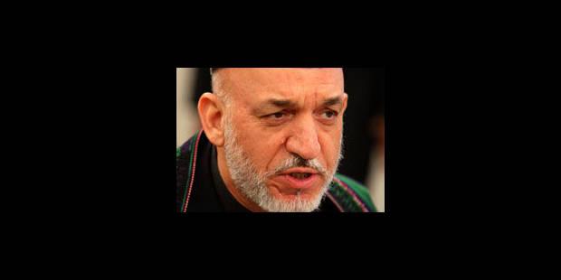 Troupes: Karzaï ne demandera pas aux USA de revenir sur le retrait - La Libre