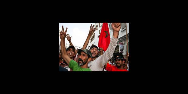Maroc : des milliers de manifestants pour la démocratie - La Libre