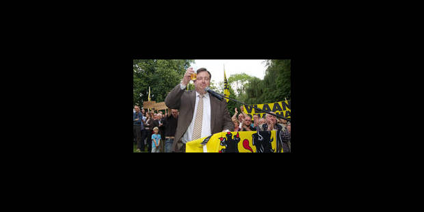 De Wever: la Flandre patauge dans la boue à cause de la tiédeur francophone - La Libre