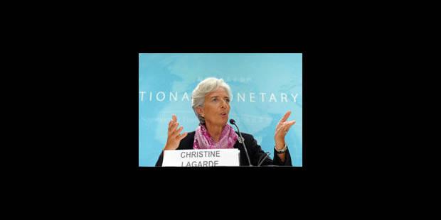 Christine Lagarde au sommet de la zone euro jeudi - La Libre