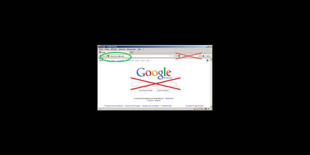 Attitude brutale de Google