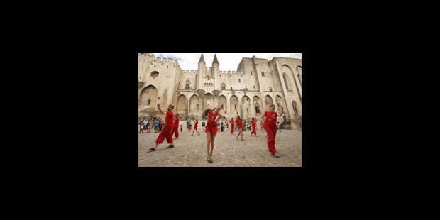 Succès de fréquentation à Avignon - La Libre