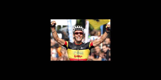 Philippe Gilbert remonte à la 2e place du classement mondial de l'UCI - La Libre