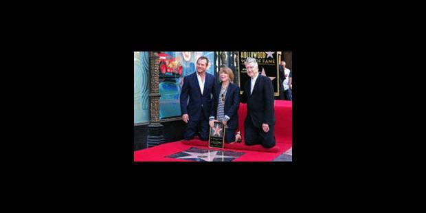 Sissi Spacek reçoit son étoile sur Hollywood Boulevard - La Libre