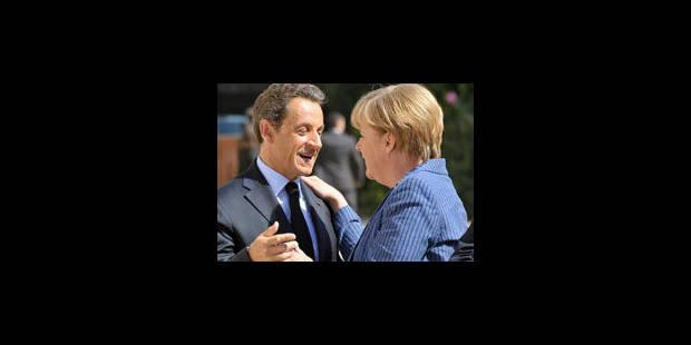 Merkel/Sarkozy: une taxe sur les transactions financières - La Libre