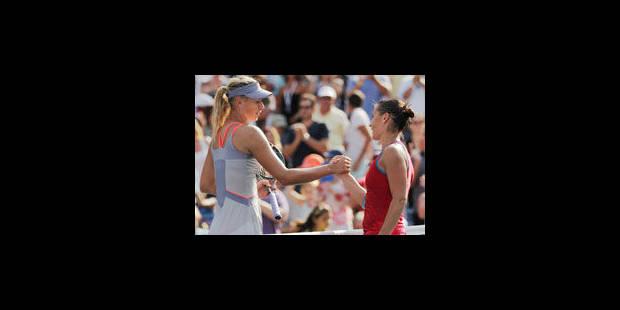 Maria Sharapova éliminée au 3e tour - La Libre