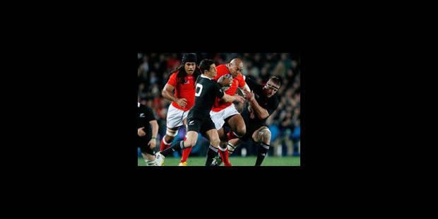 La Nouvelle-Zélande bat les îles Tonga 41 à 10 - La Libre