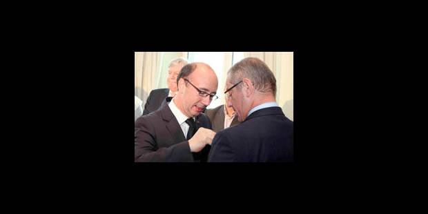 Rudy Demotte a remis les premiers Mérites wallons - La Libre