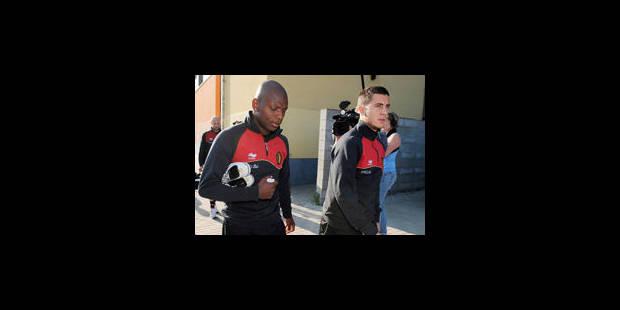 Seuls Ogunjimi et Fellaini absents à l'entraînement de mardi - La Libre