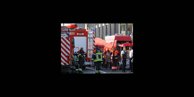 Explosion à Ath: deux ouvriers grièvement brûlés - La Libre
