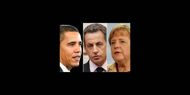 Obama, Sarkozy et Merkel se verront en marge du G20 - La Libre
