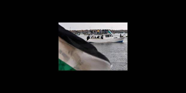 La marine israélienne arraisonne la flottille pour Gaza - La Libre